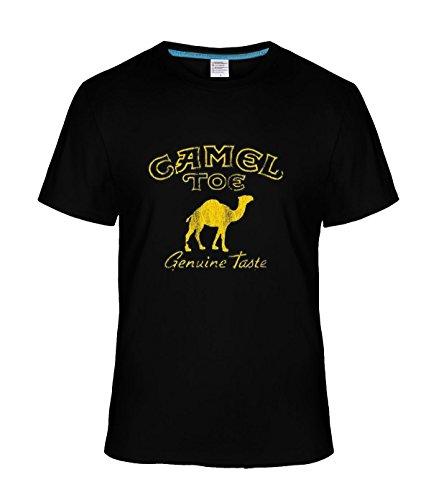 Beatles Rock Men's Vintage Camel Toe Genuine Taste tee black