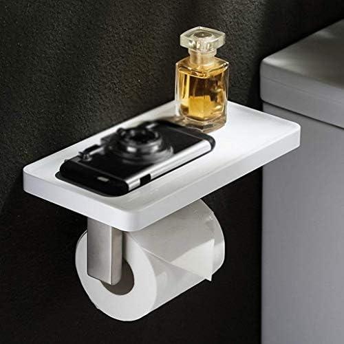 Einfache 304 Edelstahl Rollenpapier-Halter-Badezimmer-Toilettenpapier-Ständer Tissue Box Küchenrollenspender dongdong