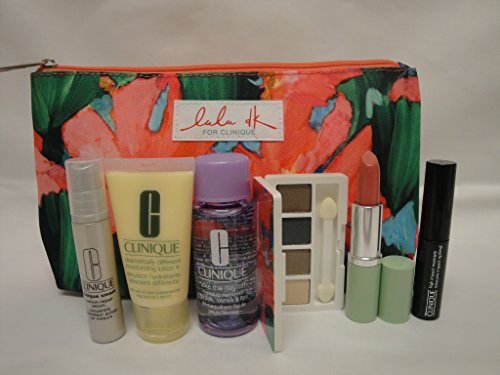 Clinique Skin Care Makeup 7 Pc Gift Set 2015 Winter Smart Custom-Repair Serum & More (Autumn Nights)