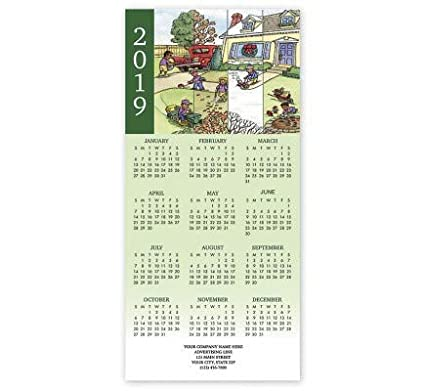 Amazon com : All Year-Round Landscaping Calendar Cards