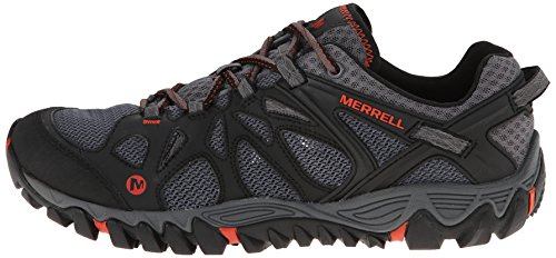 Merrell Men's All Out Blaze Aero Sport Hiking Water Shoe, Black/Red, 7.5 M US by Merrell (Image #5)