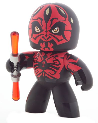 Star Wars Mighty Muggs Vinyl Figures Wave 7 Darth Maul (Version - Mighty Vinyl Muggs