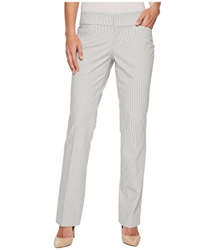 Liverpool Women's Graham Bootcut Trousers in Ministripe Print White Ministripe 10 33