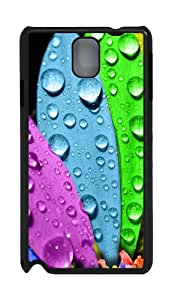 Samsung Galaxy Note 3 N9000 Cases & Covers -Colorful Flower Custom PC Hard Case Cover for Samsung Galaxy Note 3 N9000¨CBlack