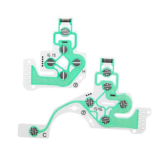 Verde de cambio de la tarjeta de circuitos Botones cinta para ...