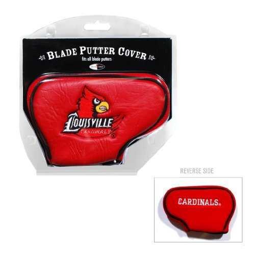(Team Golf NCAA Louisville Cardinals Golf Club Blade Putter Headcover, Fits Most Blade Putters, Scotty Cameron, Taylormade, Odyssey, Titleist, Ping,)