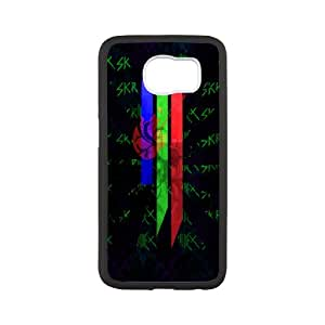 Printed Personalised Phone Case Skrillex and Knife Party For Samsung Galaxy S6 NC1Q00827
