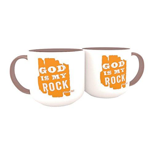 DaySpring God is My Rock Jumbo Mug -