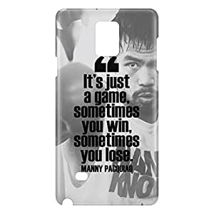 Loud Universe Samsung Galaxy Note 4 3D Wrap Around Its Just A Game Print Cover - White/Black