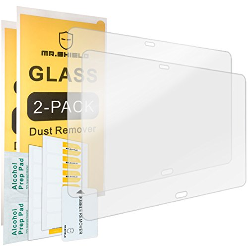 [2-PACK]-Mr Shield For Samsung Galaxy Note 10.1 2014 Edition [Tempered Glass] Screen Protector [0.3mm Ultra Thin 9H Hardness 2.5D Round Edge] with Lifetime Replacement Warranty (Glasses 2014)