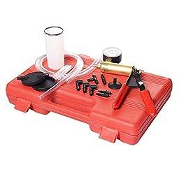 Goplus 2 in1 Brake Bleeder Vacuum Pump Kit Tools Professional Automotive