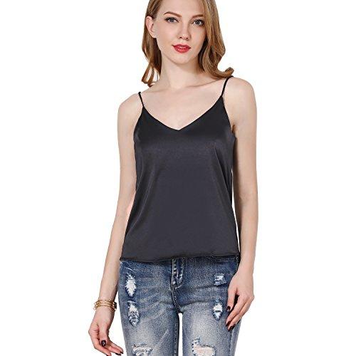 ShyVelvet Women Summer Cami Camisole Halter Top Plus Size Tank Top Sexy V Neck Crop ()