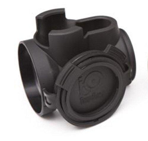 Tango Down iO Protective Optic Cover for Trijicon MRO iO-002 Made In The USA (Black)