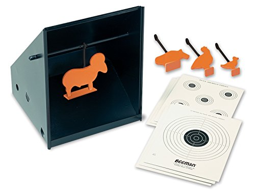 Crosman Target Trap - Beeman Pellet Trap with Targets and Silhouettes