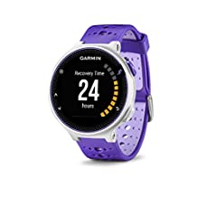 Garmin Forerunner 230 GPS Running Watch, Purple Strike