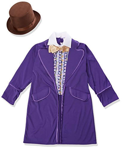 [Rubie's Costume Kids Willy Wonka & The Chocolate Factory Willy Wonka Value Costume, Medium] (Child Willy Wonka Costumes)