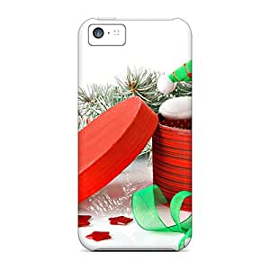 Excellent Design Christmas Snowman Gifts Case Cover For Iphone 5c
