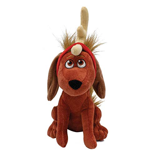 Grinch Max Plush Dog Toy | Grinch Squeaky Dog Toy | Stocking Stuffers for Your Pet Toys for All Dogs
