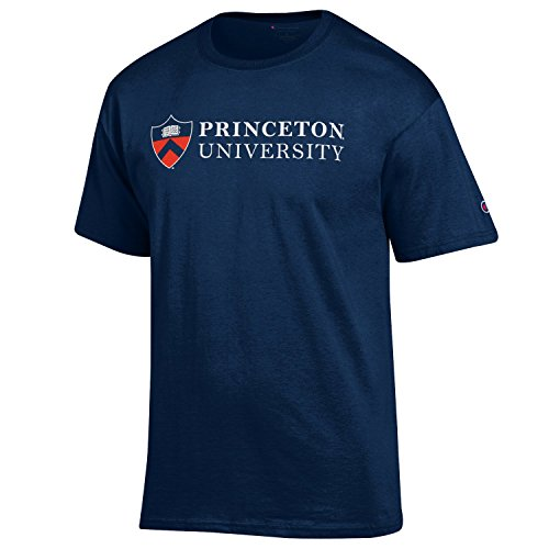 (Princeton - Shield Stacked Logo - Tee)