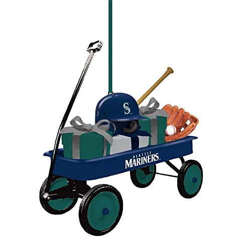 Team Wagon Ornament, Seattle Mariners - Seattle Mariners Hanging