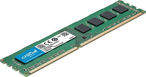 Crucial 8GB Kit (4GBx2) DDR3L 1600 MT/s (PC3L-12800) Unbuffered UDIMM Memory CT2K51264BD160B by Crucial (Image #1)