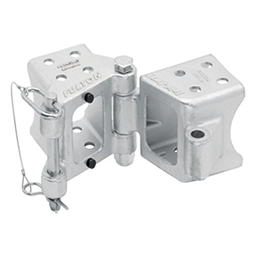 Fulton Fold-Away Bolt-On Hinge Kit 3 x 4 Trailer Beam, Rating 7,500 lbs., 48 Pivot, Z-Max 600 Zinc Finish Marine , Boating Equipment