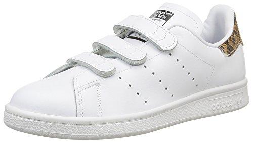 Adidas Originals  mujer 's Stan Smith CF zapatillas EUR 37 1 / 3 blanco