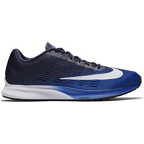 da51c9858937 Galleon - Nike Men s Air Zoom Elite 9 Running Shoe Hyper Royal White-Neutral  Indigo 11.0