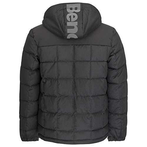 Look Black Ma1010 Marl Bench para Chaqueta Hombre Wool Beauty Puffer Down Negro 8wx5a7