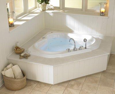 Bellavista whirlpool bathtub white for Convert bathtub to spa