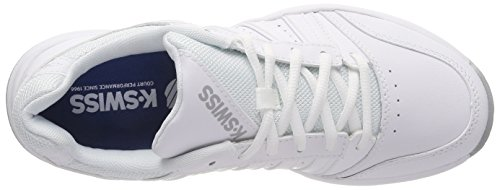 Swiss EU Highrise Court K Zapatillas para 178m Mujer Tenis Performance White Smash Blanco de dAOxnO