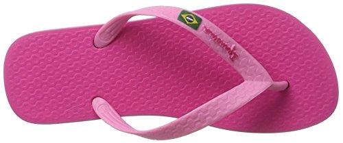 Ipanema Unisex-Kinder Classica Brasil II Kids Zehentrenner Pink (Pink)