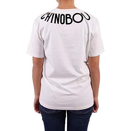 J120258401002 Moschino T Mujer Algodon Blanco shirt Boutique BxESWRnqB
