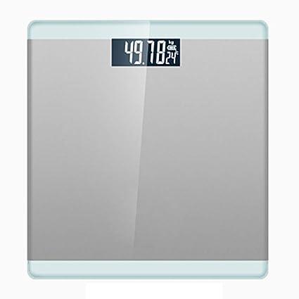 ZYY Balanzas electrónicas, básculas de baño Digitales de Alta precisión, Escalas de Peso ultrafinas