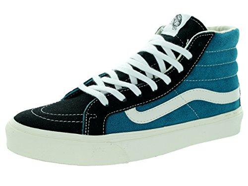 Vans Unisex Sk8-Hi Slim Blue Coral Skate Shoe 7.5 Men US / 9 Women US