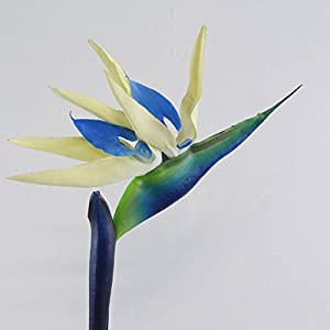 Artificial Flower Bird of Paradise Fake Plant Faux Strelitzia Reginae Home Decor 120
