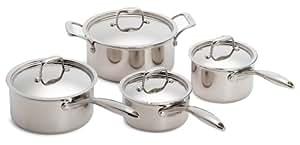 Paderno Fusion 5 8-Piece Cookware Set