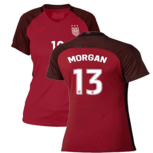c473aba59 USA Home Women Replica Top Jersey Alex Morgan Size Large