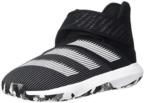 adidas Men's Harden B/E 3 Basketball Shoe, core Black/FTWR White/Grey Five, 4.5 Standard US Width US