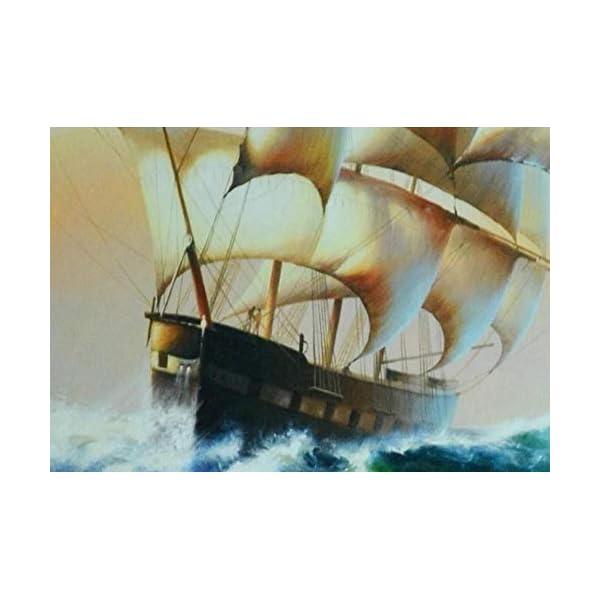 LIWALLPAPER-Carta-Da-Parati-3D-Fotomurali-Onde-Del-Mare-Che-Navigano-La-Pittura-A-Olio-Camera-da-Letto-Decorazione-da-Muro-XXL-Poster-Design-Carta-per-pareti-200cmx140cm