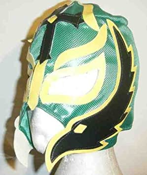 ASHLEYS Rey Mysterio Verde Máscara Para Niños