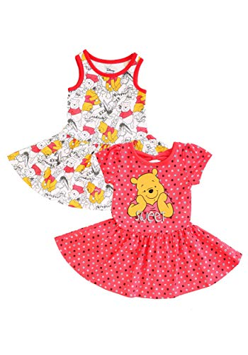 (Children's Apparel Winnie The Pooh Dresses 2 Pack 4T)