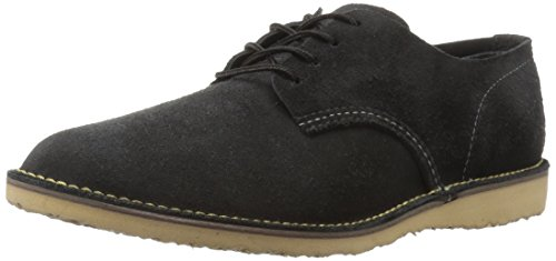 Red Wing Heritage Men's Weekender Oxford Work Shoe, Black Abilene, 10.5 US/10.5 D US (Wing Red Chukka)