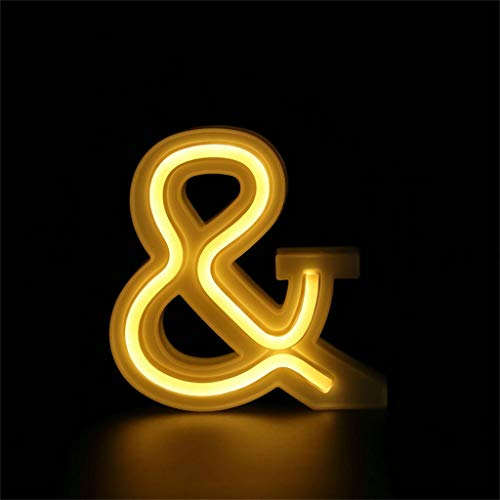 ️ Yu2d ❤️❤️ ️LED USB Letter Lights Light