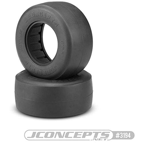 J Concepts Inc. Hotties Rear Drag Tires, Green (2): SCT, JCO319402