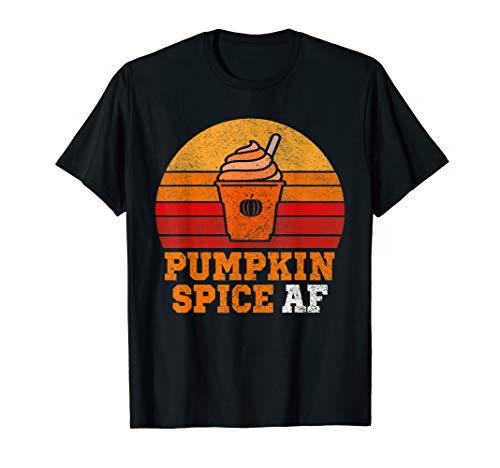 Pumpkin Spice Costume (Pumpkin Spice Af Funny Men Husband Apparel Halloween Gift .)