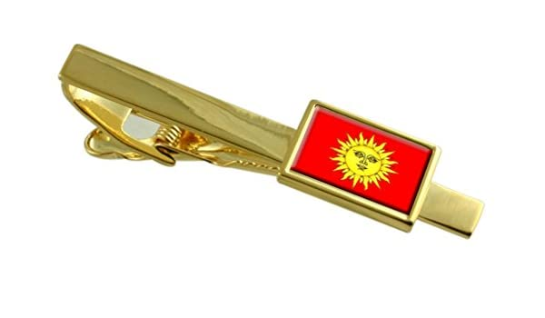 Svietlahorsk City Belarus Flag Tie Clip