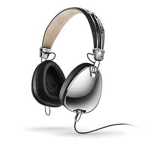 Skullcandy Aviator Headphones Mic3 (Chrome/Black)