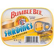 Bumble Bee Sardines In Mustard 3.75 oz
