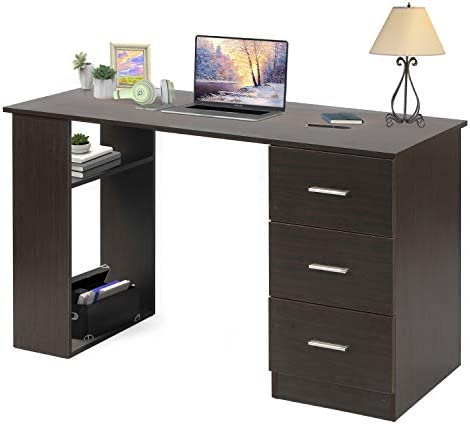 Computer Desk Home Office Workstation Executive Desk Study Writing Table